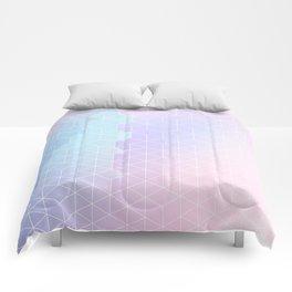 Geometric pastel vibes pattern 1 #pattern #decor #abstractart Comforters