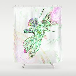 Ezreal Pulsefire  Shower Curtain