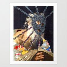 Composition 491 Art Print