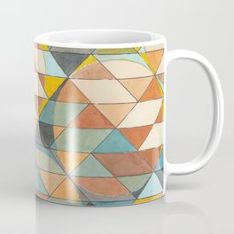 Triangles and Circles Pattern no.23 Coffee Mug
