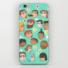 emoji talk iPhone Skin