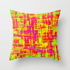 Smoke Digital 2 Throw Pillow