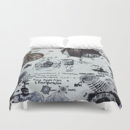 Time Travel Troubleshooting Duvet Cover