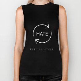 End the Cycle of Hate Biker Tank