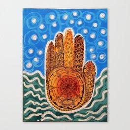 The Hand Canvas Print