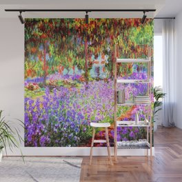 Monets Garden In Giverny Wall Mural