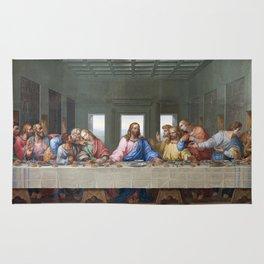 The Last Supper by Leonardo da Vinci Rug