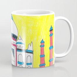 Taj Mahal by Sunil Coffee Mug