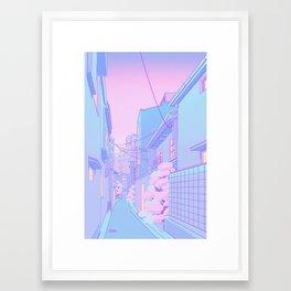 Osaka Morning Framed Art Print