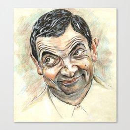 Rowan Atkinson Canvas Print
