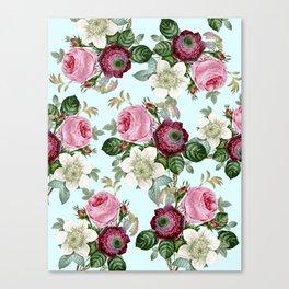 Floral enchant Canvas Print