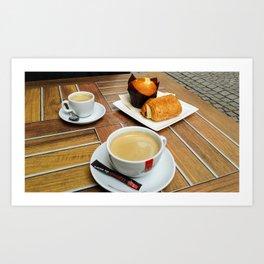 French Cafè Art Print