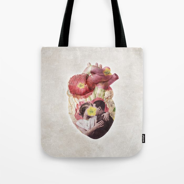 You Are in My Heart - floral version Tote Bag