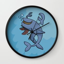 Release the Crabken! Wall Clock
