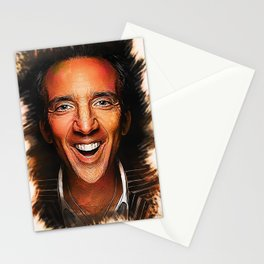 Nicolas Cage - Caricature Stationery Cards