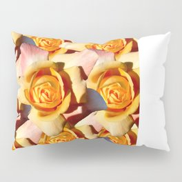 Yellow Roases Pillow Sham