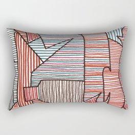 Bridget Riley Rectangular Pillow