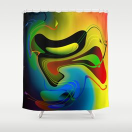 Hypothetical parallelism III Shower Curtain