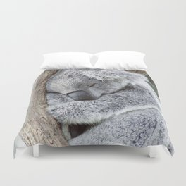 Sleeping Koala Duvet Cover