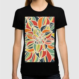 Vintage flower close up T-shirt