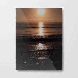 And then she kissed me Metal Print