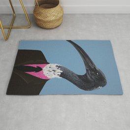 Ibis In Suit Rug