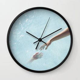 my soul will find yours Wall Clock
