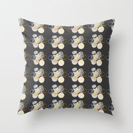 Cryptocurrency Pattern Throw Pillow