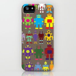 Robot Army iPhone Case