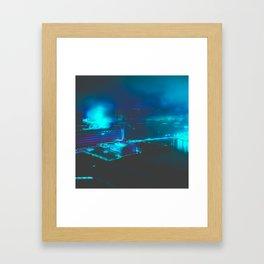 Cyberpunk Future Framed Art Print