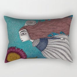 The Little Mermaid (2) Rectangular Pillow