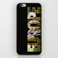 europe iPhone & iPod Skins featuring Europe by Stokes Whitaker