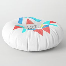 Are we all lost star ? Floor Pillow