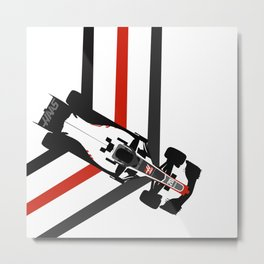 HAAS Formula 1 2016 Metal Print