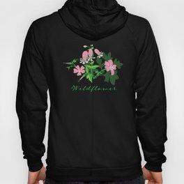 Forest Wildflowers / Dark Background Hoody