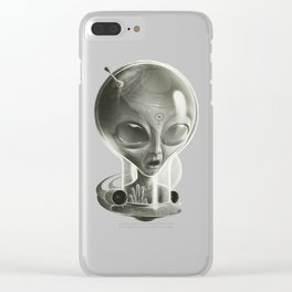 Alien IV (Decompressed) Clear iPhone Case