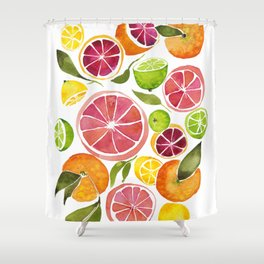 All the Citrus Shower Curtain