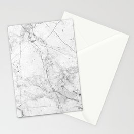 Nordic White Marble Stationery Cards