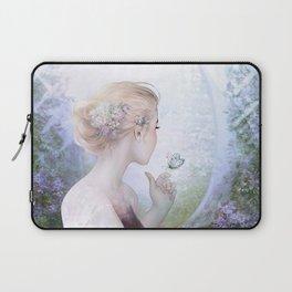 Dream of gentleness - princess in royal garden Laptop Sleeve