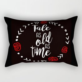 Beauty and the Beast: Tale as Old as Time Rectangular Pillow