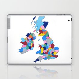 England, Ireland, Scotland & Wales Laptop & iPad Skin