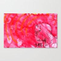 daredevil Canvas Prints featuring Daredevil by s133pDEADart