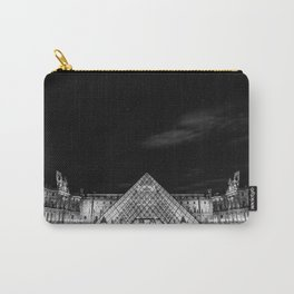 Louvre under the stars Carry-All Pouch