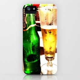 the essence of summer iPhone Case