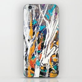 Forest party iPhone Skin