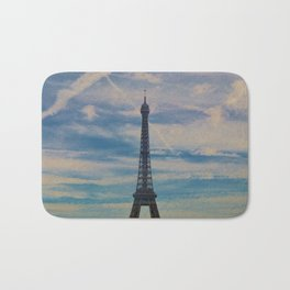 Eiffel Tower, Paris (Landscape) Bath Mat