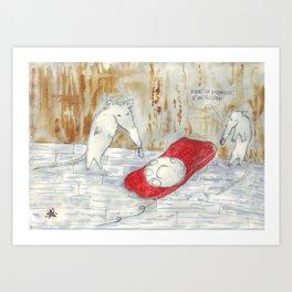 TOPI Art Print