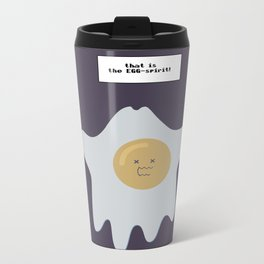 that is the EGG-spirit Metal Travel Mug