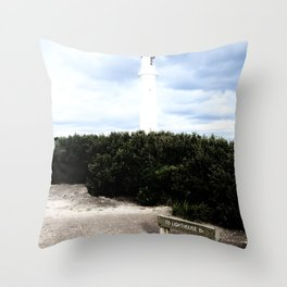 Split Point Throw Pillow
