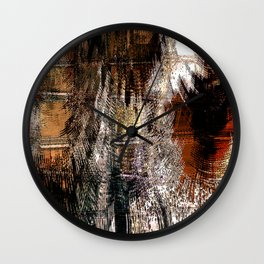 Feathered Expressions Wall Clock